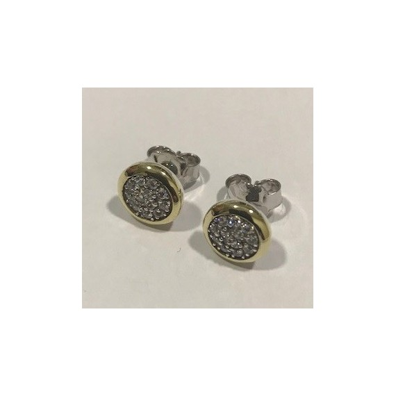 Brincos Prata 925 e Ouro 375