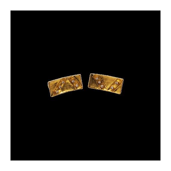 Brincos Ouro com Diamantes