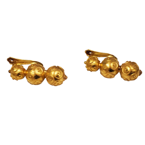 Gold Viana Account Earrings