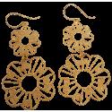 Gold Silver Earrings