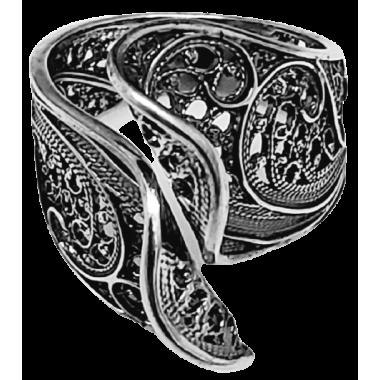 Silver Filigree Ring