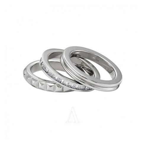 Set of 3 Rings CALVIN KLEIN